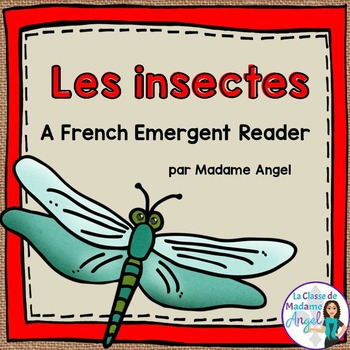French Animal Classification Reader - Les insectes