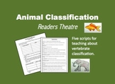 Animal Classification Readers Theatre