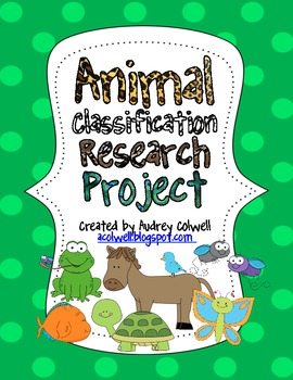 Animal Classification & Research QR Codes