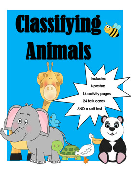 Classifying Animals Unit