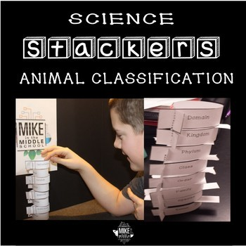 Animal Classification Science Stacker