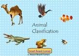 Animal Classification Smart Board Lesson