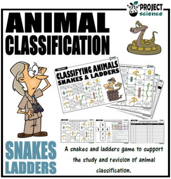 Animal Classification Snakes and Ladders