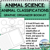 Animal Classification Student Research Booklet