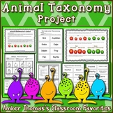 Animal Classification: Vertebrate and Invertebrate Taxonomy Project