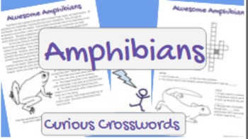 Science Reading Activity- Amphibians
