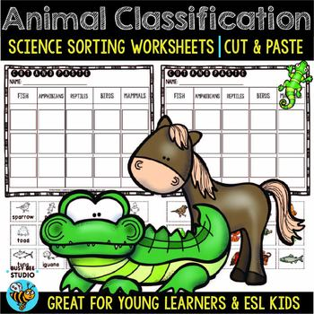 Animal Classification Worksheet Teaching Resources Teachers Pay