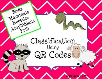 Animal Classification Bundle using QR Codes
