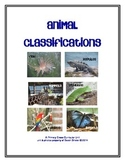 Animal Classifications: A Cross-Curricular Unit with Photographs