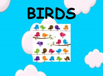 Animal Classifications - BIRDS, SmartBoard Lesson