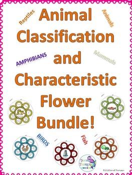 Animal Bundle (Characteristic and Classification Wheel)