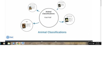 Animal Classifications Lesson Plan (Technology Integration Activity)