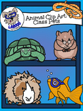 Animal Clip Art- All Your Class Pets! For Commercial and Personal Use