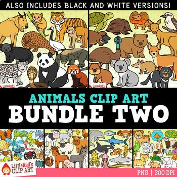 Animal Clip Art Bundle 2