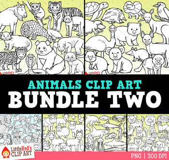 Animal Clip Art Bundle 2