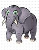 Animal Clip Art, Clipart - Safari Pack - Animal Artwork - Lion, Elephant +more