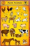 Animal Clip Art - Farm Clip Art Set by Charlotte's Clips