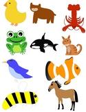 Animal Clip Art - Includes 12 Animals
