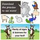 Animal Clip Art / Letters O - T BUNDLE / Alphabet Animals Series