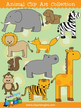 Animal Clip Art Collection