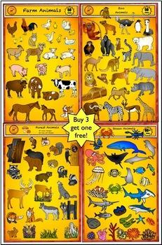 Animal Clip Art - Value Bundle by Charlotte's Clips