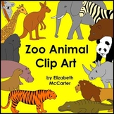 Zoo Animal Clip Art