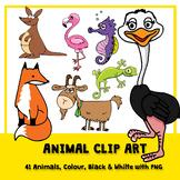 41 Animal Clip Art Images