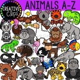 Animal Clipart A-Z Bundle {Creative Clips Clipart}