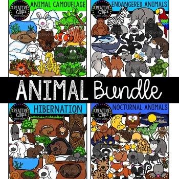 Animal Clipart Bundle {Creative Clips Clipart}