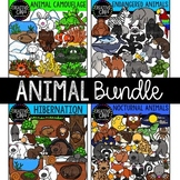 Animal Clipart Bundle {Creative Clips Clipart}