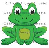 Animal Clipart - Cartoon Frog