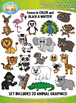 Animal Clipart Collection Mega Bundle — Over 300 Graphics!