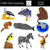 Animals Clip Art Mega Bundle 3 - Farm Animals, Wild Animal