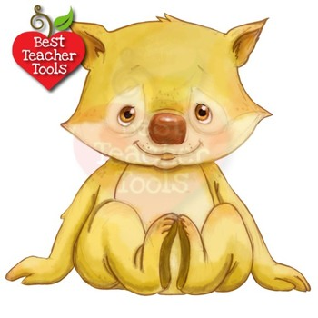 Animal Clipart, Watercolor Clipart, Baby Animals Clipart AMB-2285