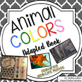 Animal Color Adapted Book Autism **Freebie**