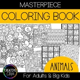 Animal Coloring Pages: Masterpieces {Made by Creative Clips}