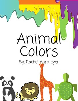 Animal Colors Book - Color Matching