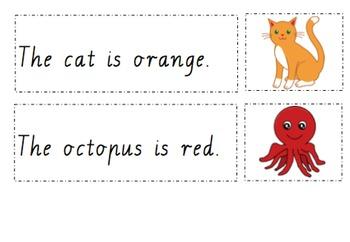 Animal & Colour Comprehension