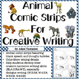 Comic Strips for Creative Writing - Animal