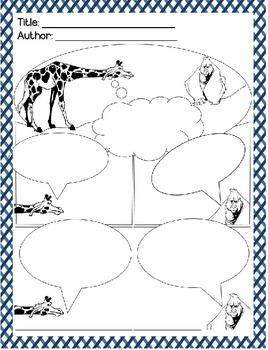 Comic Strips for Creative Writing - Animal