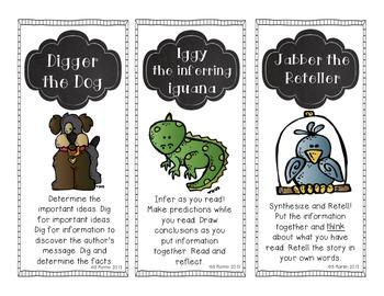 Animal Comprehension Posters