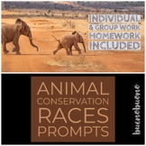 Animal Conservation - 10!!! Articles for RACES Practice!