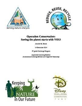 Animal Conservation Unit Plan