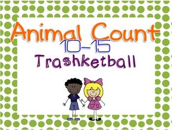 Animal Count 10-15 - Trashketball