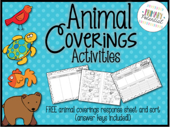 Animal Coverings Activities