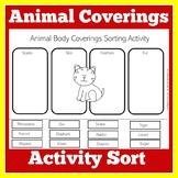 Animal Coverings Worksheet   Animal Coverings Skin Fur Feathers Scales
