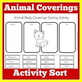 Animal Coverings Worksheet