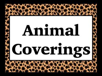 Animal Coverings PowerPoint (Editable!) 1st Grade/ Kindergarten