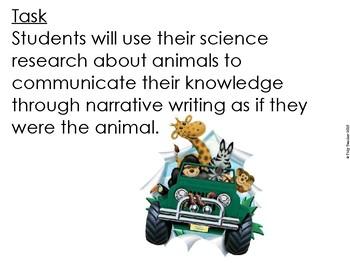 Animal Creative Writing!