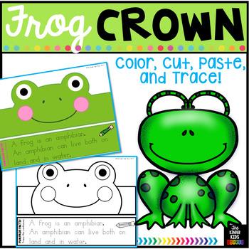 Animal Hat Frog Crown - Frog Hat